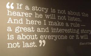 Een regel over verhalen