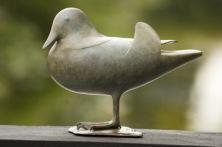 Frou Wassenaar | Bronzen eendje