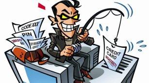 Phishing man