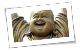 lachende boeddha knip