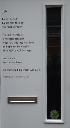 Neem de tijd - Gedicht